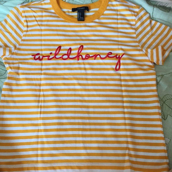 1b912017b6200 Forever 21 Tops - Forever 21 Wild Honey Top